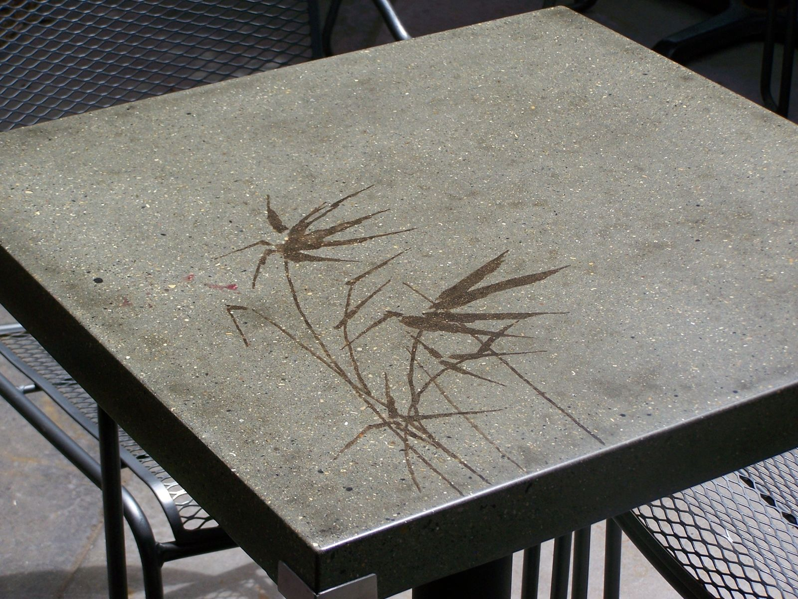 Hand Crafted Custom Concrete Tables For Everyday People Cafe Douglas Mi By Natural Concrete