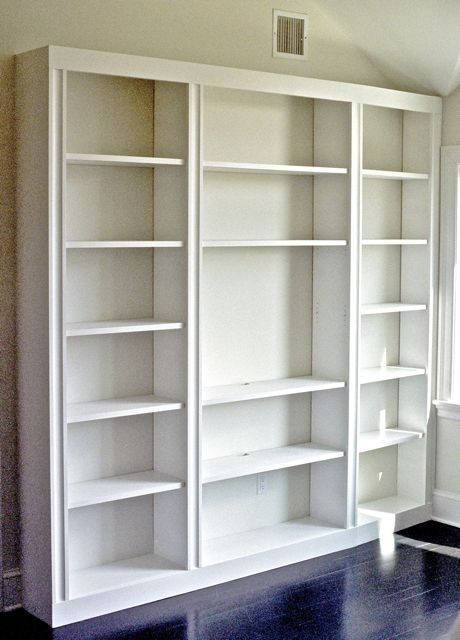 Hand Made Bookcase With Tv Space By Fred Brandes