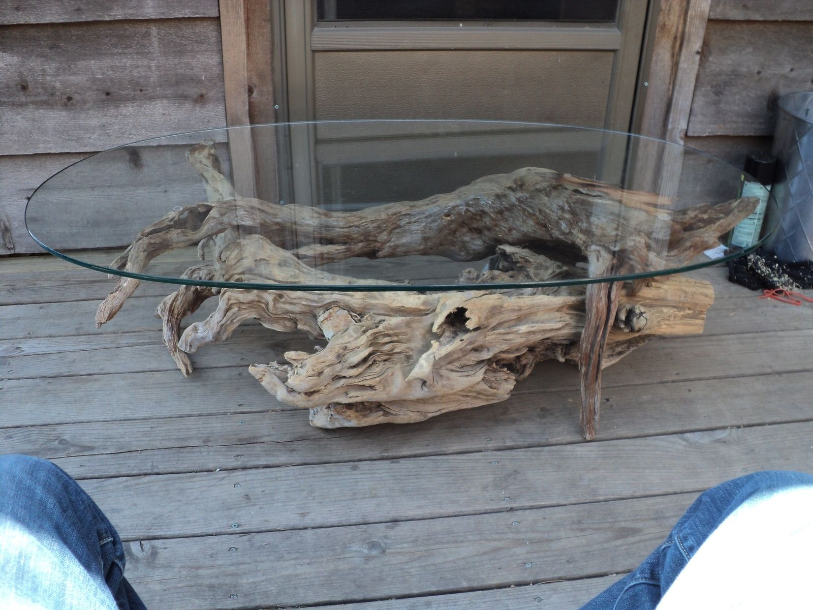 Custom Made Weathered Wood Tables And Furnishings By Oz Or Art Ozark Original Art And Natural