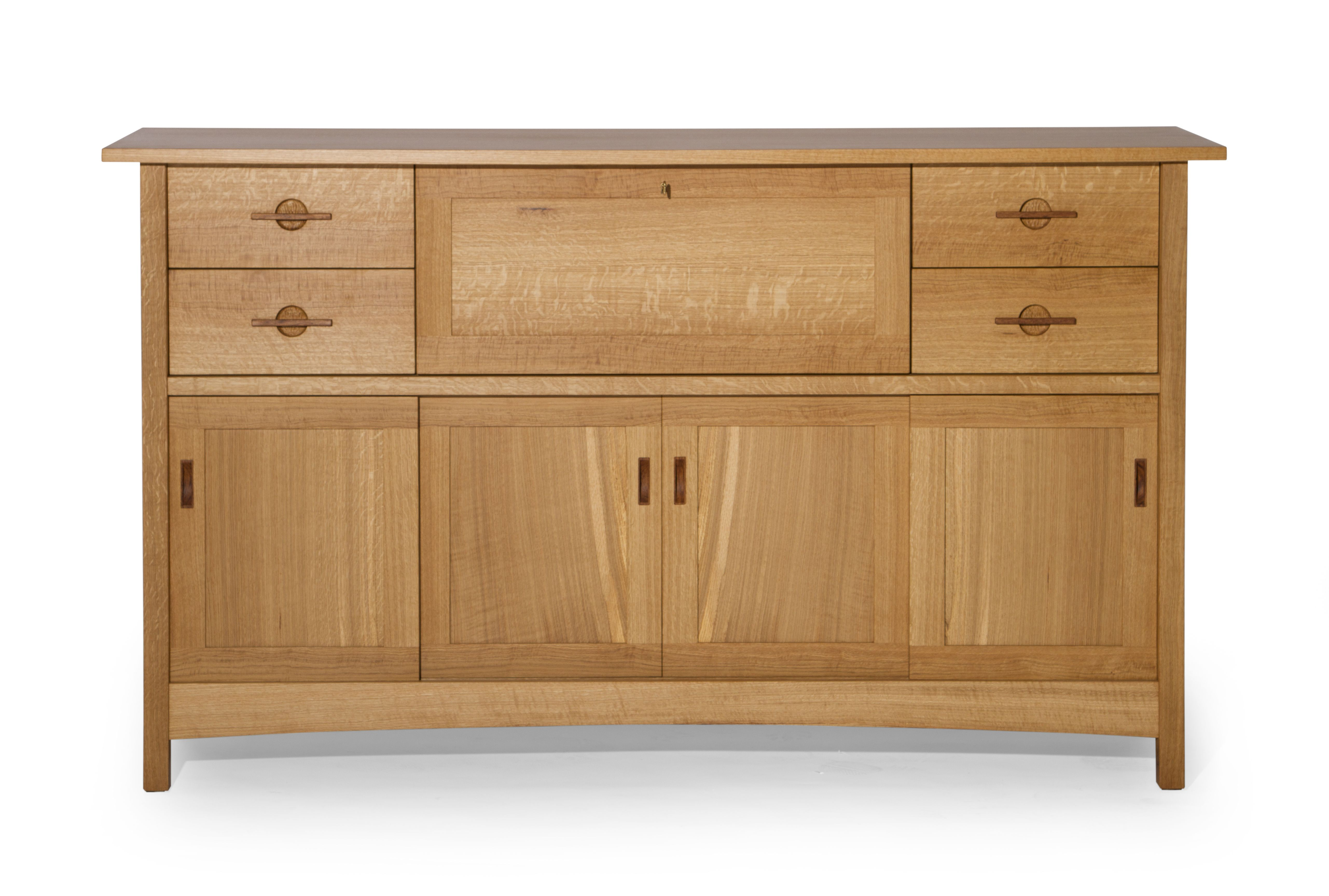 Hand Crafted Quartersawn White Oak Sideboard by J. Holtz ...