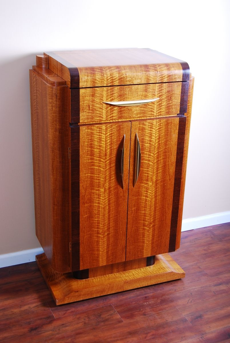Hand crafted art deco bar by m s woodcraft - Deco bar design ...