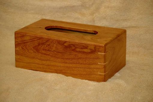 Custom Made Cherry Tissue Box Cover