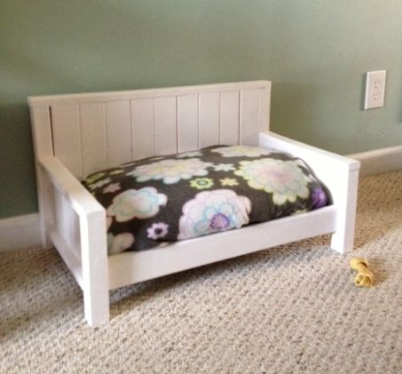 Custom Dog Bed Or Toddler Bench By Furnish Me