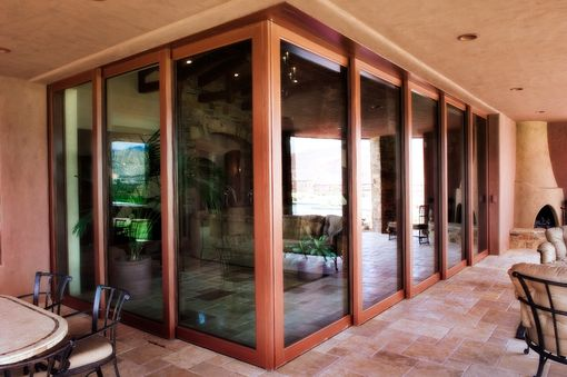Custom Made Corner Multi Slide Automated Door System
