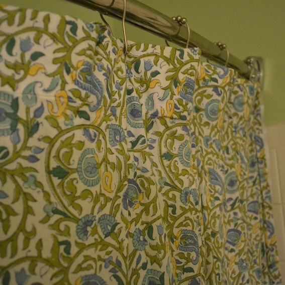 Hand made shower curtains by drape baby custommade com