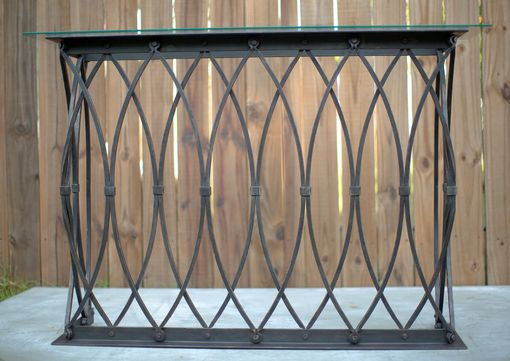 Buy A Custom Made Gothic Arch Console Table Made To Order