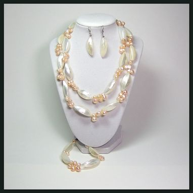 "Custom Made ""Athena"" Mother Of Pearl Necklace"