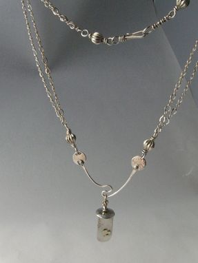 Custom Made Silver Valentine Necklace