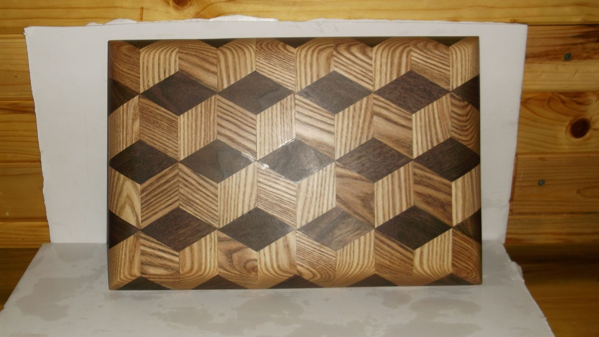 Hand made cutting board 3d design by pappywood for Best home decor pinterest boards