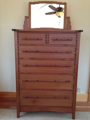 Custom Made Greene And Greene Inspired Arts And Crafts Dresser