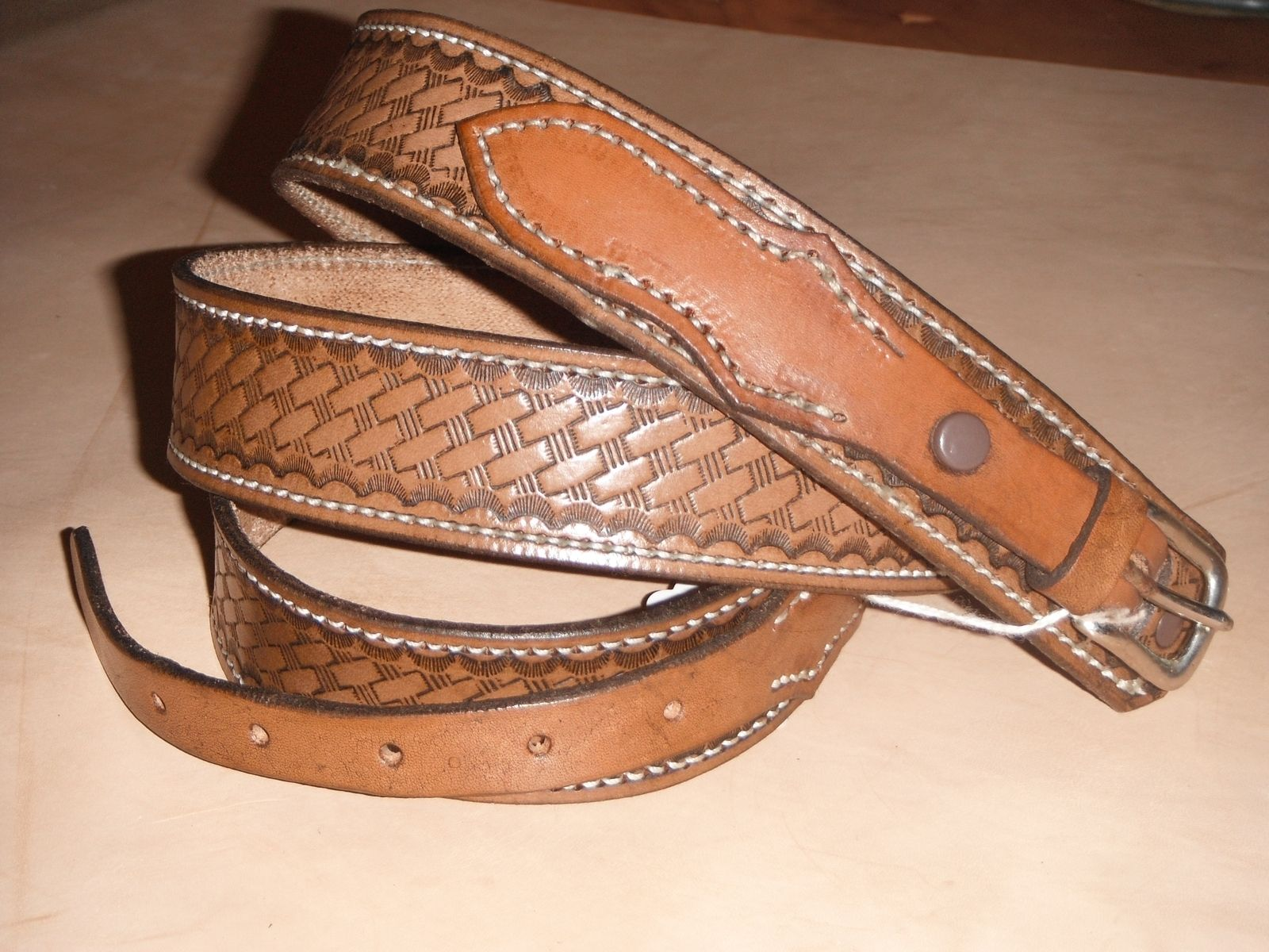 crafted 1 1 2 quot ranger belt by hambones custom leather