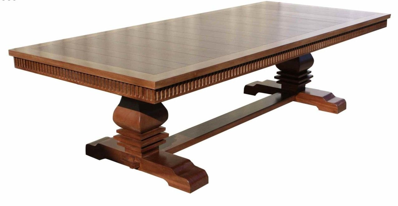 Custom Made Adelaide Mahogany Dining Table By Mortise Tenon Custom Furniture
