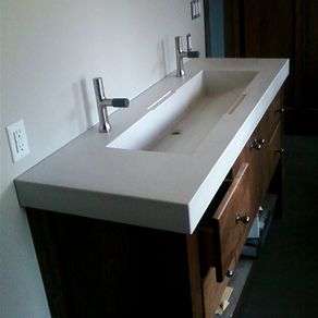 custom bathroom sinks