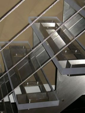 Custom Made Stainless Steel /Glass Stairs