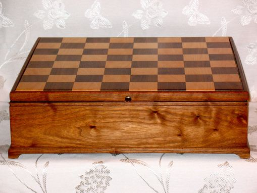 Custom Made Chess Case For Oversize Pieces