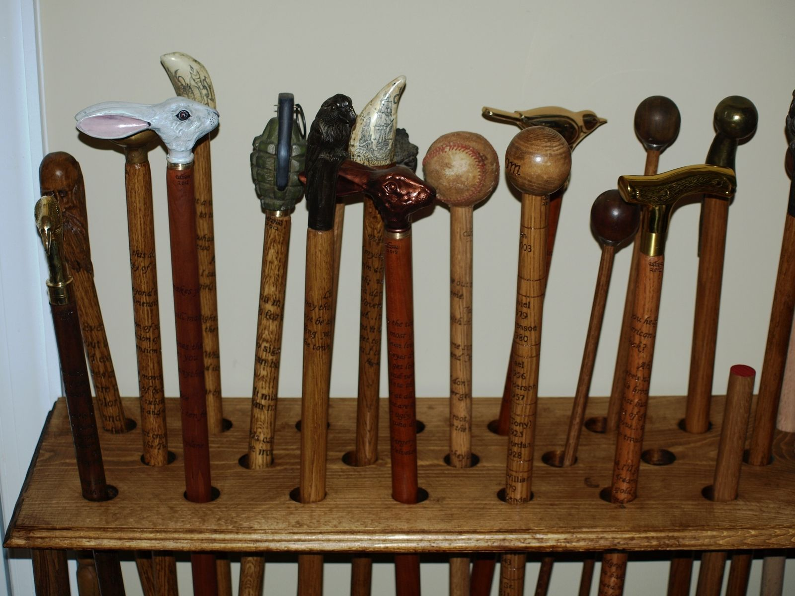 Hand Made Quotable Walking Sticks And Canes By QuotableWalkingStick