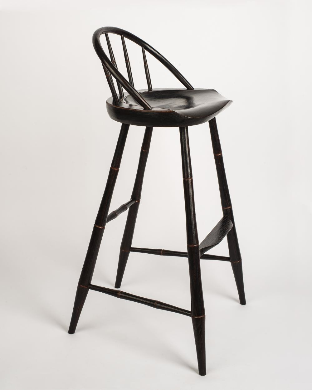 Buy A Hand Made Russell S Windsor Bar Stool Made To Order