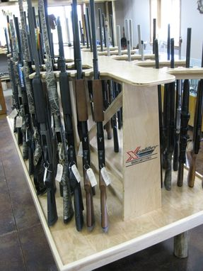 Custom Made Custom Made Commercial Gun Display Rack