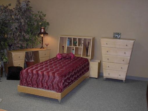 Custom Made Angled Bedroom Suite