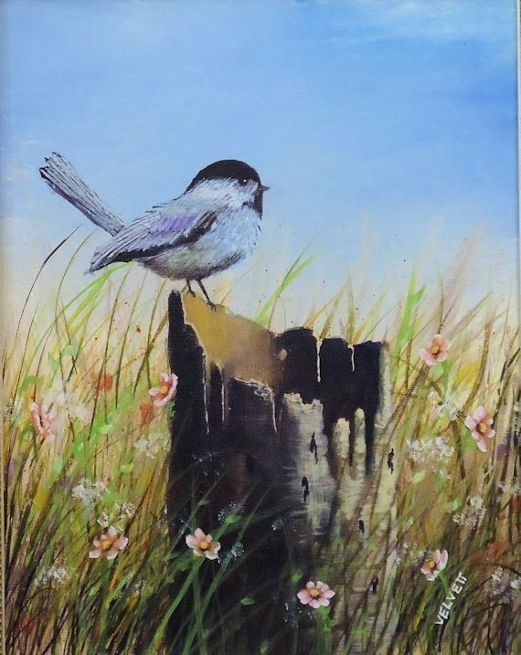 Buy a Hand Made Bird Painting, Wildlife Painting ...