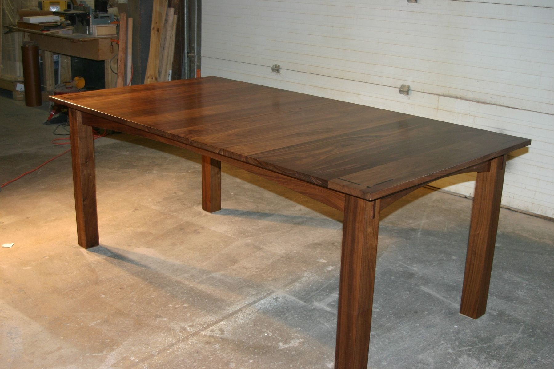 Handmade walnut dining table by canton studio for Dining room tables handmade