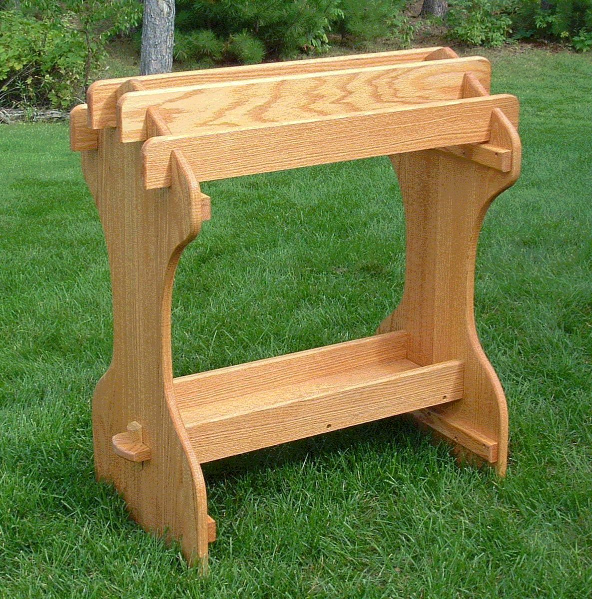 Hand Crafted Saddle Stand By Amish Outdoor Furniture