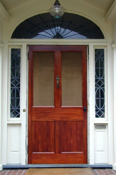 Hand made 63 may st extra wide screen door by historic Extra wide front doors