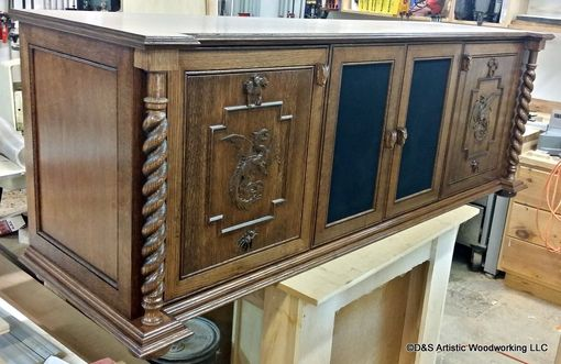 Hand Made Hagrid Harry Potter Themed Media Cabinet By D