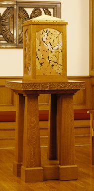 Custom Made Oak Tabernacle