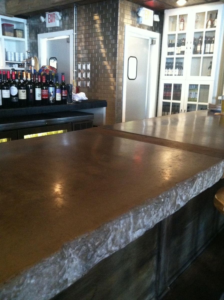 Hand Crafted Restaurant Bar Top By 910 Castings