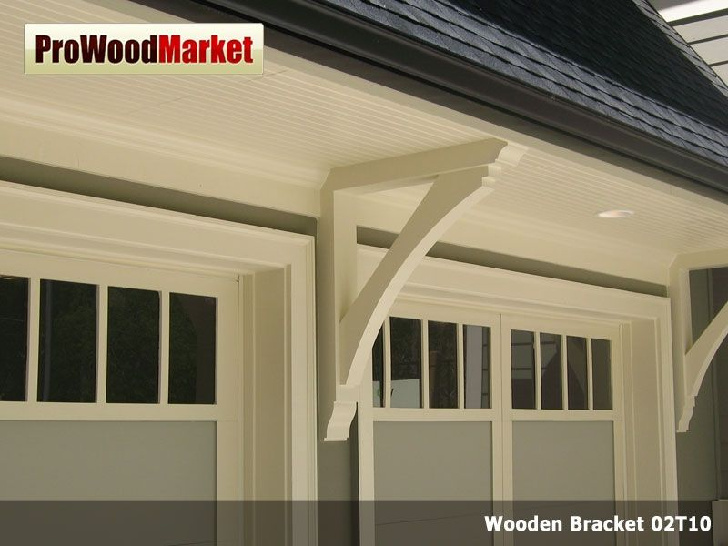 Custom Wooden Cedar Bracket 02t10 By Pro Wood Market