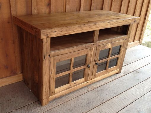 Custom Made Reclaimed Chestnut Tv Consoles