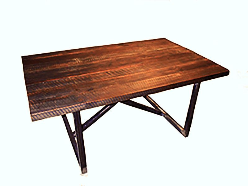 Buy a Hand Made Reclaimed Wood Dining Table made to order  : 246259946176 from custommade.com size 800 x 600 jpeg 38kB