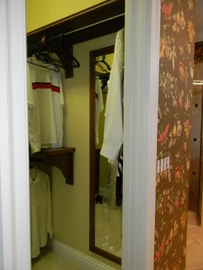 Custom Made Custom Cherry Closet