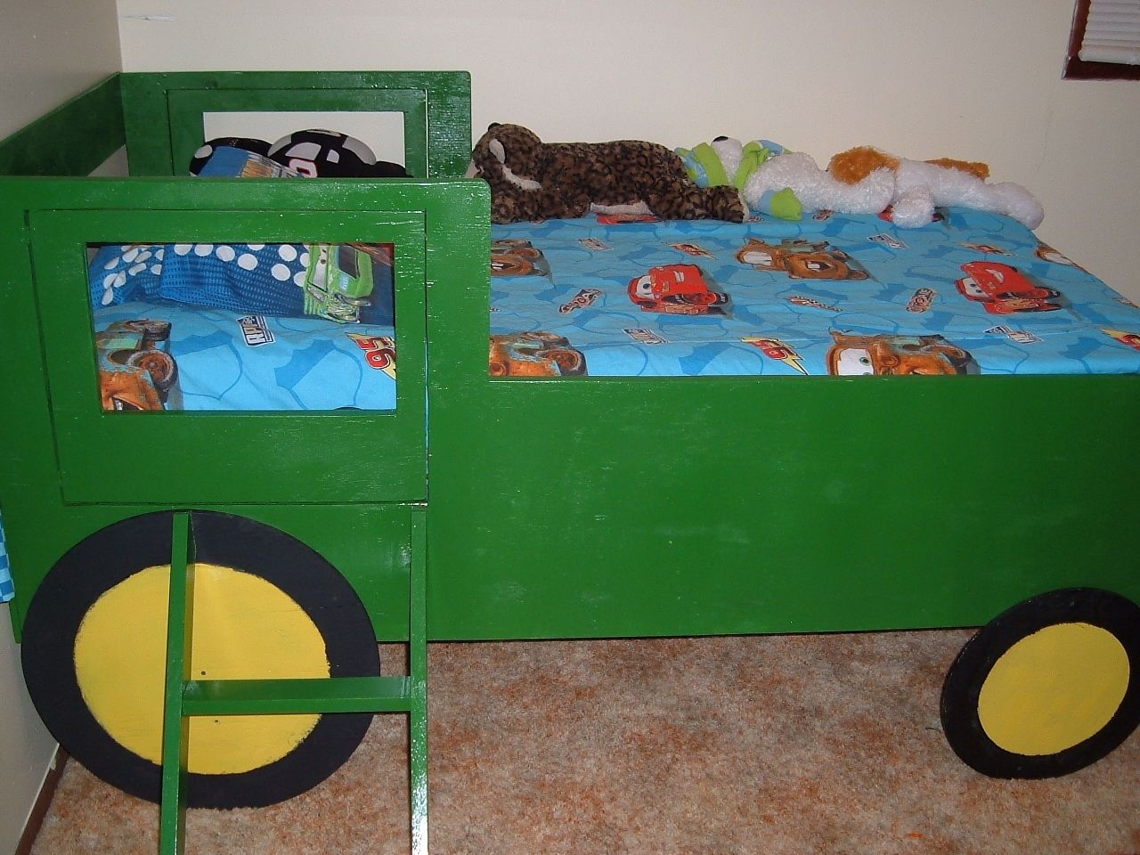 John Deere Bunk Bed Kit : Handmade child s tractor bed by white furniture shop