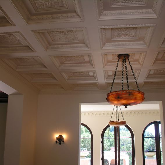 Hand made custom ceilings by michael h casey designs for Custom ceiling designs