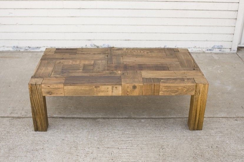Hand Crafted Big Foot Coffee Table By San Diego Urban