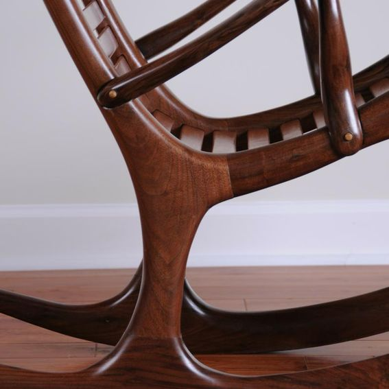 from richard weigand furniture maker this was my first rocking chair