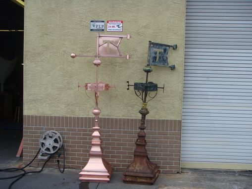 Custom Made Historic Copper Finial Reproduction