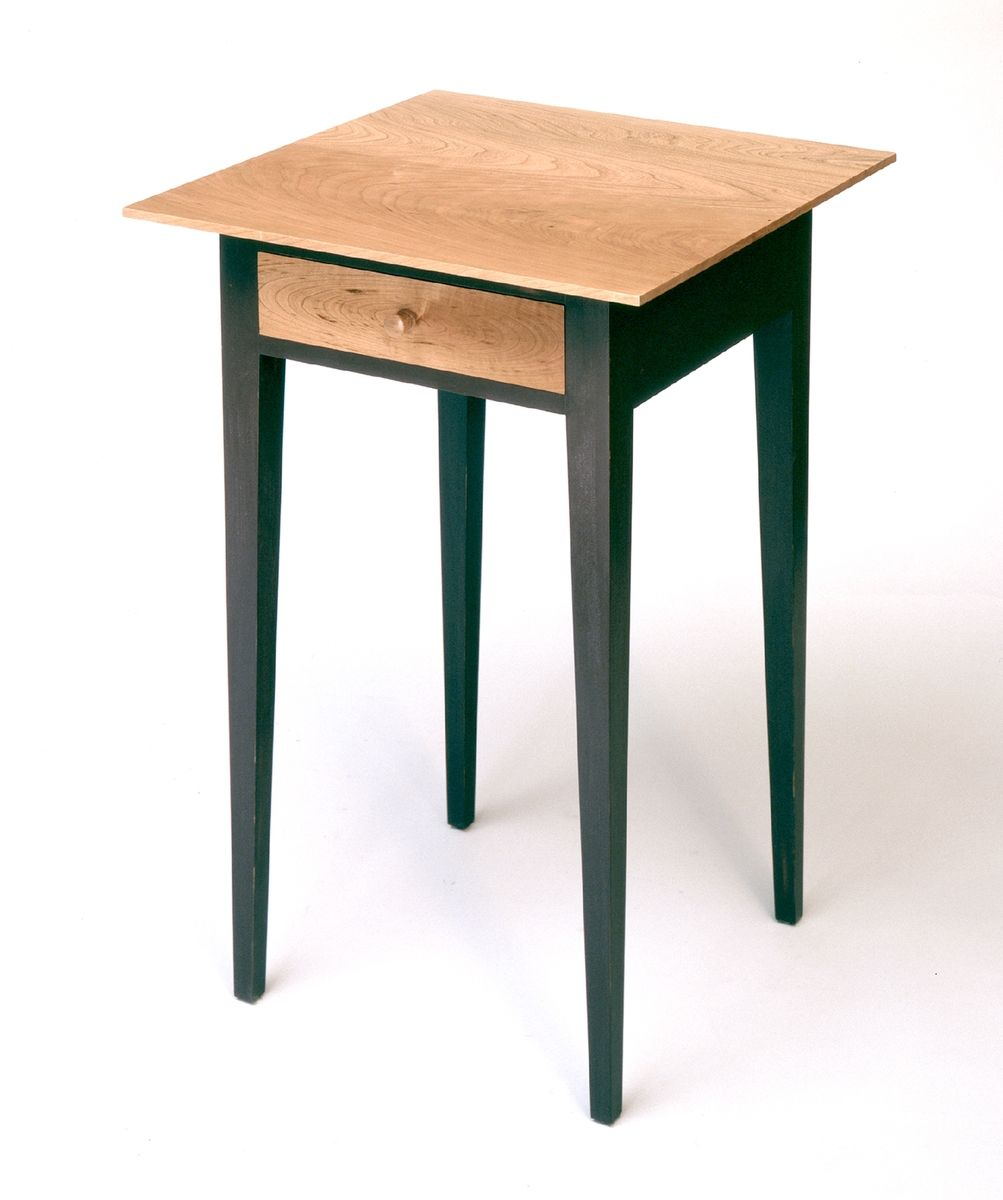 Custom made nightstand shaker style by padouk furniture for Shaker furniture