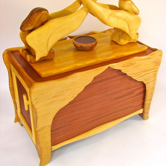 Hand Made Ark Of The Covenant Cabinet By Jeff Davis