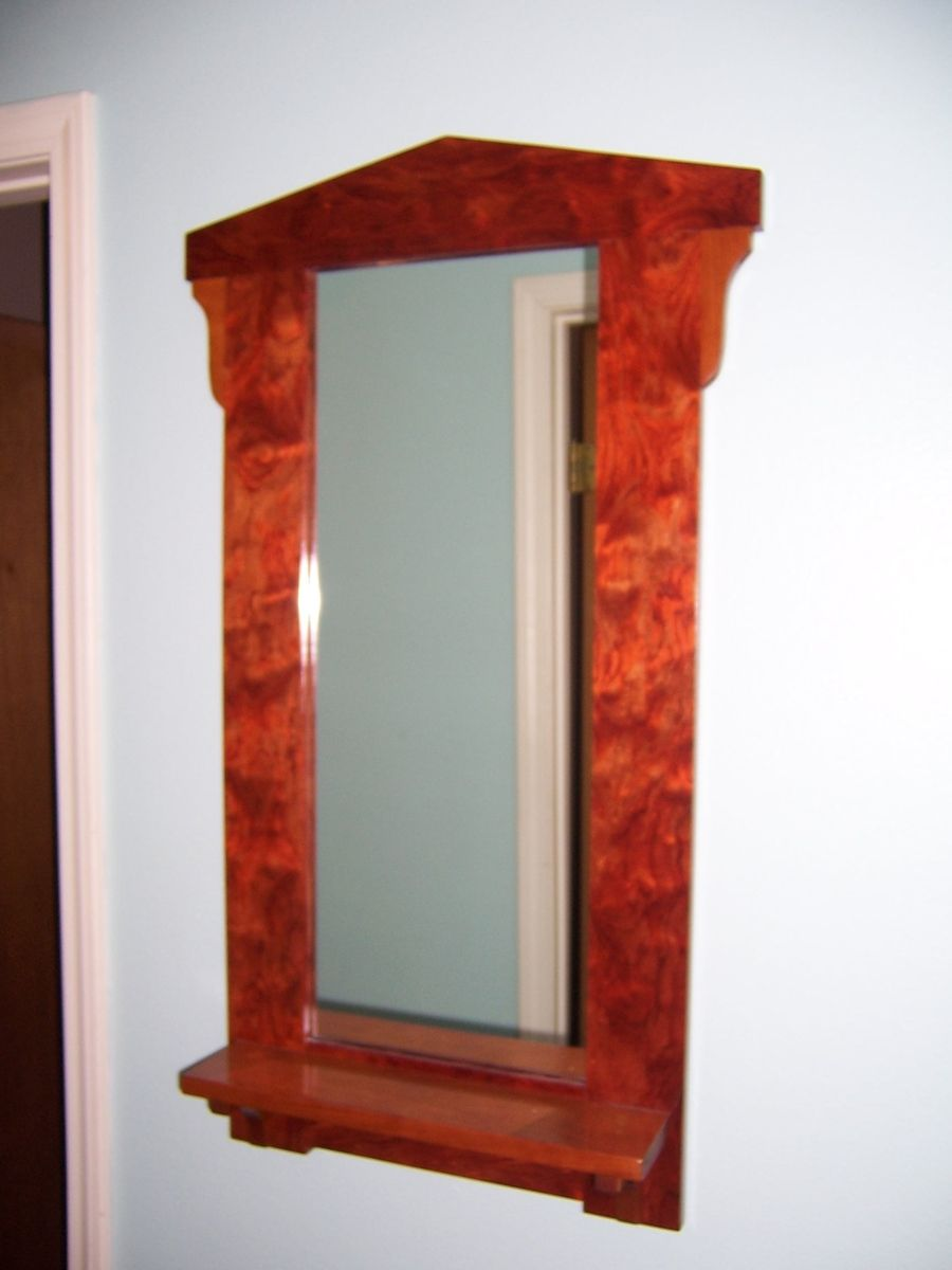 Hand made wall mirror by bungalow white oak furniture for Custom made mirrors