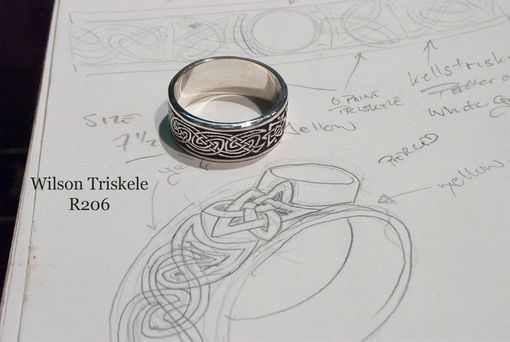 Custom Made Celtic Ring