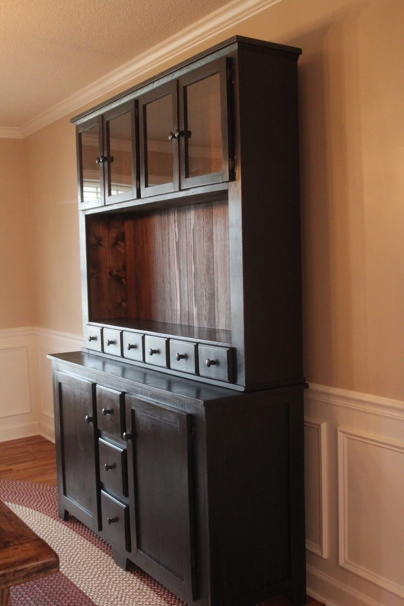 handmade custom vanity sideboard tv stand buffet hutch by the rusty nail primitives. Black Bedroom Furniture Sets. Home Design Ideas