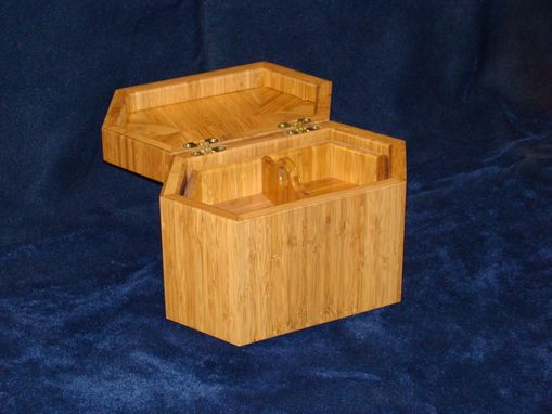 Custom Made Bamboo Keepsake Box