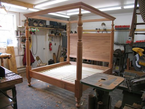 Custom Made Caribbean Tall Post Bed