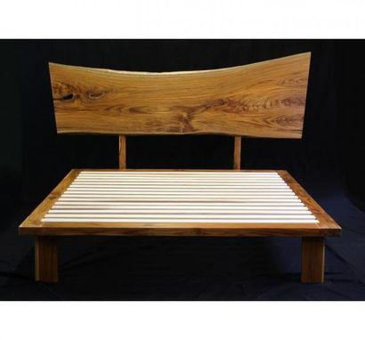 Custom Made Live Edge Teak Bed