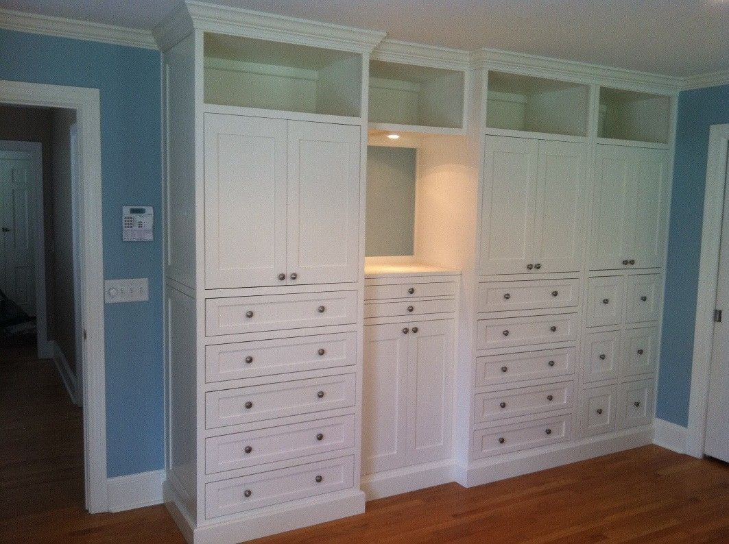 Hand Made Master Bedroom Built In By Borders Woodworks