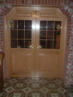 Custom Made Oak French Style Doors