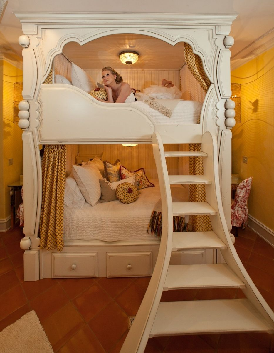 Handmade Victorian Bunk Beds by Rusty Nail Design, Inc ...